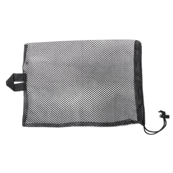 Quick Dry Swim Dive Net Bag Drawstring Type Water Sport Snorkel Flippers Storage