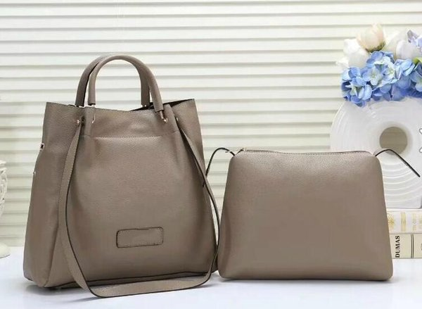 Il trasporto libero 2019 sacchetti di spalla dei sacchetti di modo delle nuove donne calde 2Pcs insacca la borsa di acquisto della borsa della borsa delle borse della borsa della borsa