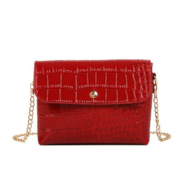 New Women Bag PU Leather Messenger Shoulder Crossbody Bag For Lady Evening Handbag Tote Satchel Purse