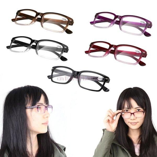 Ropa Accesorios cómodo Ultra Light Reading Glasses presbicia 1.0 1.5 2.0 2.5 3.0 Vidrios de lectura de dioptrías nuevos mujeres