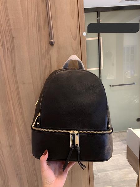 borsa a tracolla nuovo disegno di modo dello zaino della borsa delle donne di alta qualità formato zaino 27 * 33 centimetri squisita zaino nero