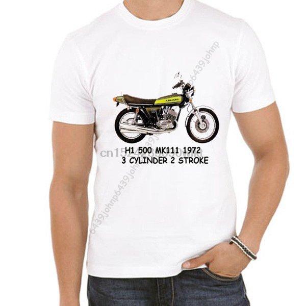K'Saki H1 500 MK111 1972 3-цилиндровый 2-тактный энтузиаст футболка