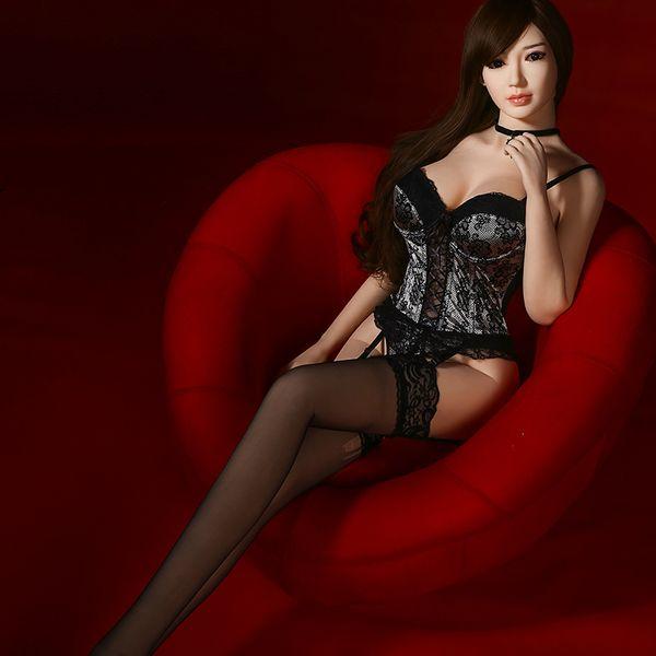 165cm First Torso Koi Head sex doll RealLife Pretty Silicone Doll Realistic Skin Half Body Love Cute girl