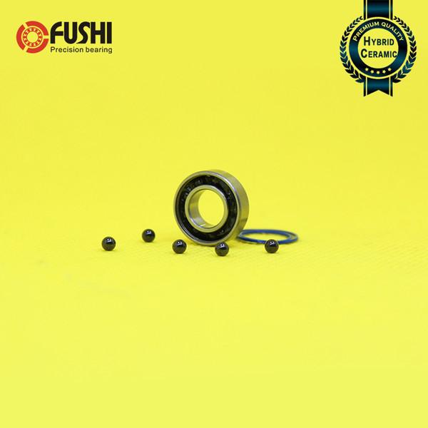 Cuscinetti 688 2PC 8x16x5mm 440C Anello in acciaio inossidabile Si3N4 Sfere in ceramica con cuscinetti ABEC-7 Spinner in metallo S688 RS 2RS S688RS