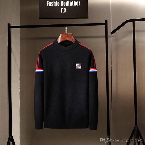 top ralph herren lauren luxus pullover Offizielle neue stil pullover Explosion Embroidery Cardigan Bequemes Freizeit-Strickhemd