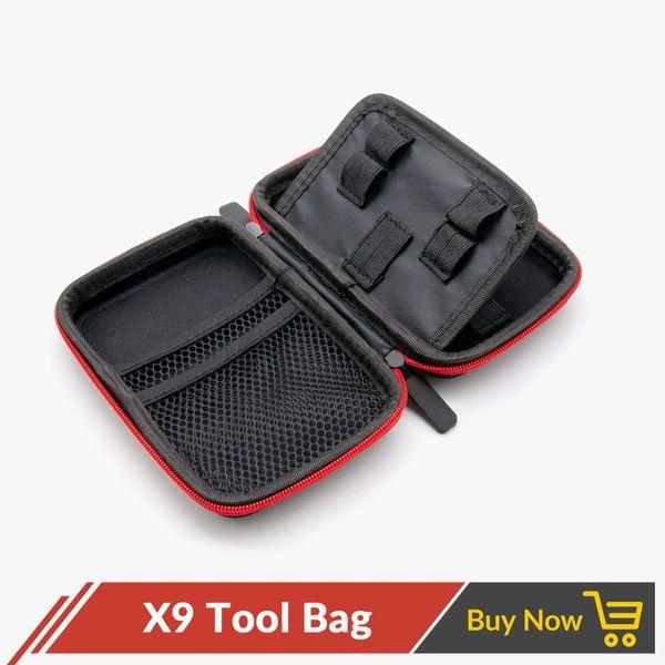 Volcanee X9 Vape Bag Tragetasche für elektronische Zigarette RTA RBA RDA Mod Kit DIY Tool Vapor