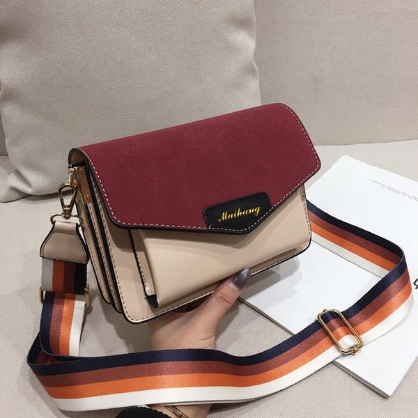2019 Fashion Chain Shoulder Bag Bolso de lujo Diseñador Crossbody Bolsas para mujer Cuero de PU Mujer Messenger Bags Sac A Main
