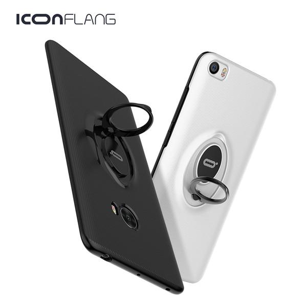Estuches para Xiaomi Mi Note 2 Mi5 Funda 360 Protección Teléfono negro Duro delgado magnético contraportada para Xiaomi 5C 5S Plus Redmi Note4 X