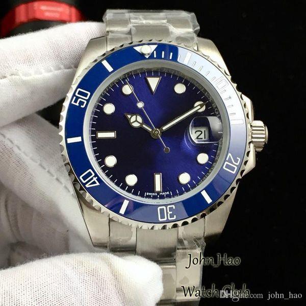 Men Brand Watches Wristwatch steel strip Green Face Watch mens Sport Casual high quality Watch Automatic mechanical core