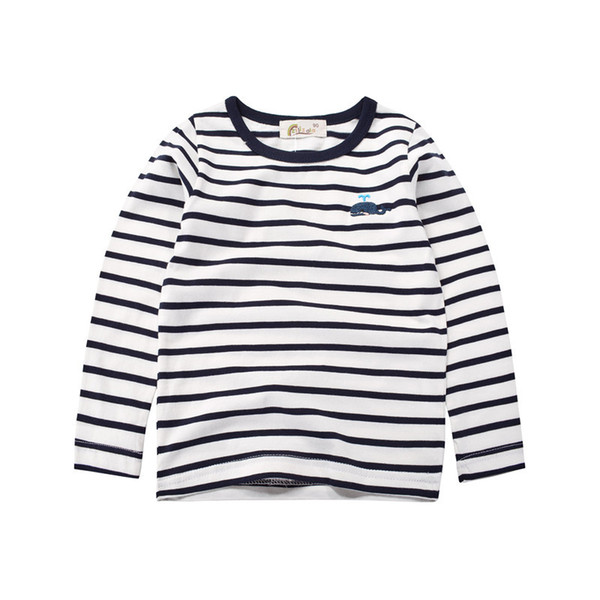 Boys'Long Sleeve T-shirts and Boys' Underwear in the Spring and Autumn Period of Children's Wear in 2019