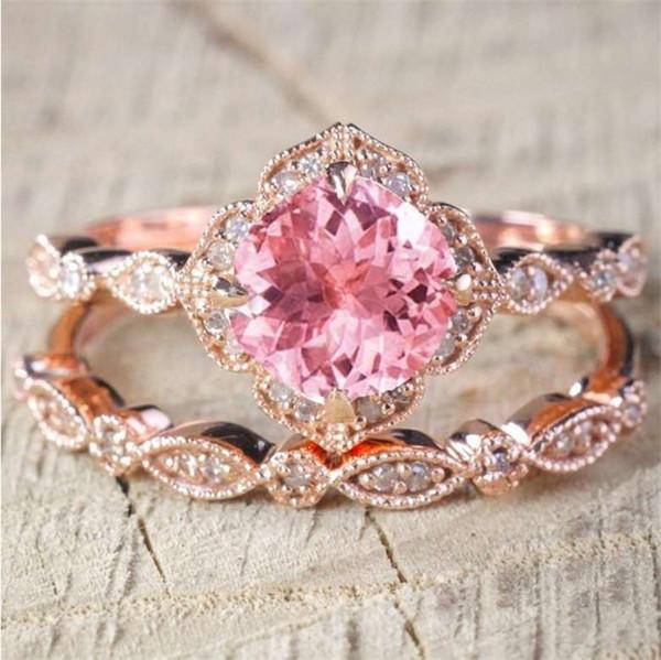 kadın, basit dışarı buzlu halka Yeni Trendy Mücevher Önerisi Yüzük Sevgililer Günü Takı Hediyeleri en kaliteli damla Kargo