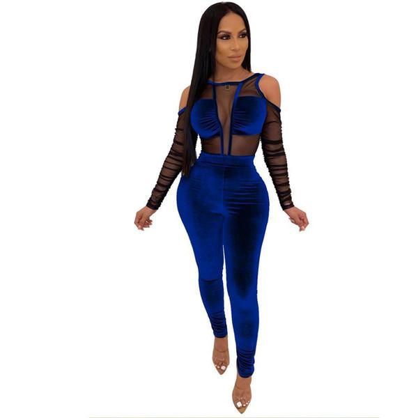 Bleu Jumpsuit