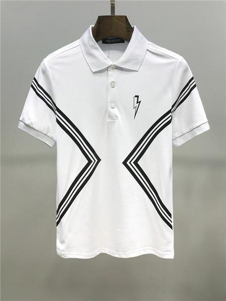 2020 Nouvel An du T-shirt en coton Summer Fashion Star Printing Pig Commémore Slim hommes de soie à manches courtes H1