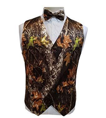 2019 New Airtailors Camo Wedding Vests Groom Vest Single Breasted Tree Trunk Leaves Spring Camouflage Slim Fit Mens Vests