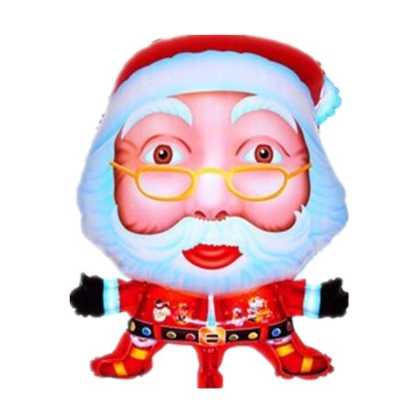 Balões da folha do papai noel alegre decoração do partido de Natal balão de hélio Árvore De Natal grande brinquedo inflável