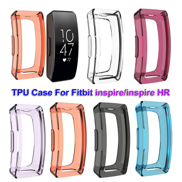 Clear TPU Protective Watch Case Cover Shell For Fitbit Inspire/Inspire HR Case Watch Band Sporting Goods Accessories