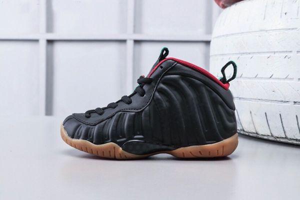 2019 Pro hardway Hyper Crimson açık Çocuk basketbol ayakkabıları erkek kız genç çocuk spor Koşu basketbol Sneaker boyutu 28-35