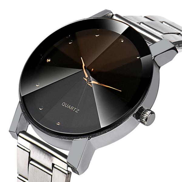 Relojes para hombre de primeras marcas de lujo 2018 Relogio masculino cuarzo de acero inoxidable horas reloj de pulsera reloj hombre 2018 Relogios regalo