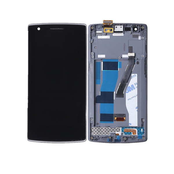 High quality LCD display with touch screen digitizer assembly For Oneplus One Plus 1+ A0001 with Frame