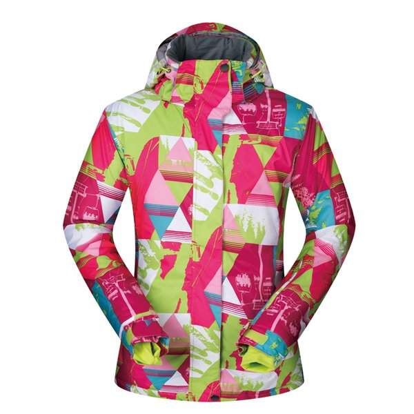 Jacket Women Ski Brands 2019 New High Quality Winter Snow Coat LC Clothes Female Windproof Waterproof Snowboard Women Jacket Clothes Snow