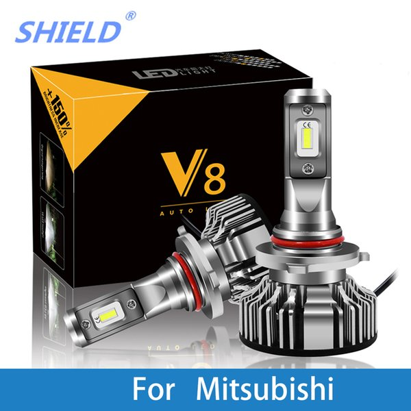 Car Headlight For Mitsubishi Outlander/Nimbus/Montero/Mirage/Magna/Lancer/Grandis/Expo H7 LED H4 LED H1 H7 H3 8000LM CSP Light