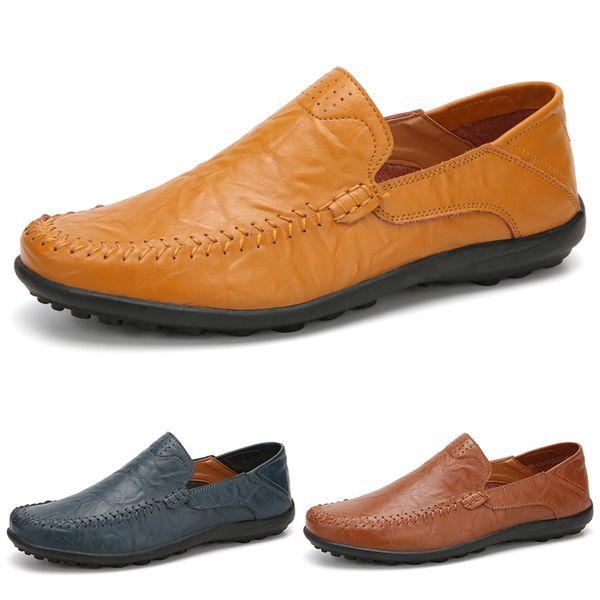 2020 de haute qualité kaki gris taupe Type9 noir vert foncé brun cuir souple Cortex classique chaud Sneakers homme des hommes de sport Chaussures Casual 38-47