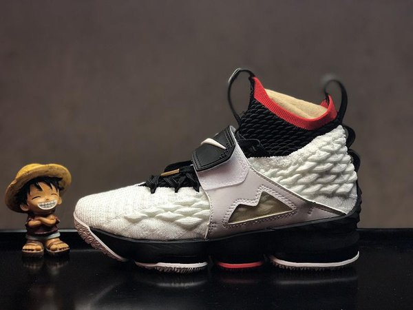 2019 HAVA ucuz Külleri Hayalet Florale kalite Lebrons 15 Basketbol Ayakkabı erkekler Lebron ayakkabı Sneaker 15 s Erkek spor Ayakkabı James 15 abd 7-12 o05