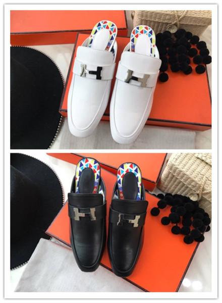 Chaussures de luxe discrètes pour femmes Importées en cuir de vachette d'origine italienne et en Italie