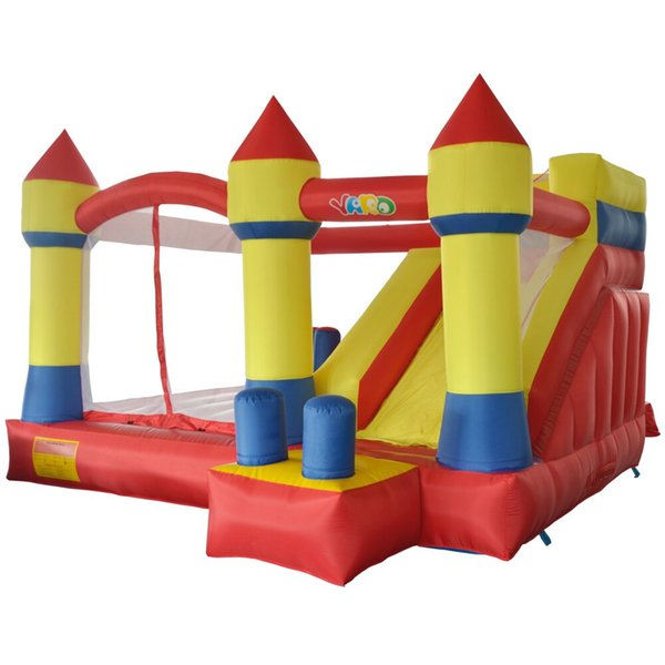 YARD Home use inflatable castle bouncy castle jumping castle bounce house combo slide moonwak trampoline toys with blower
