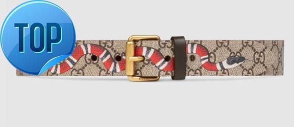 Christmas Gift crystal feline head Blooms belt snake bee dragon tiger head feline buckle Official Men Belt With Box Bees and stars belt