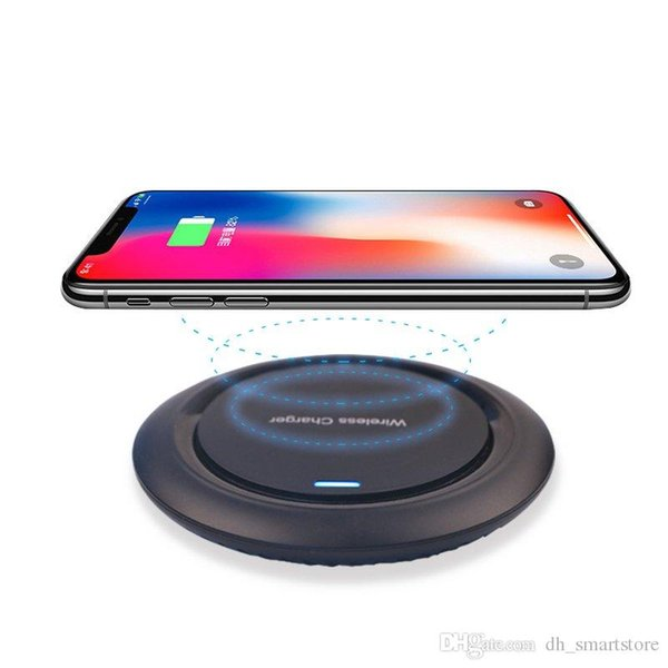 Qi Wireless Charger UFO Desktop Wireless Charging Pad para iPhone xs max xr X 8 8 Plus para Samsung Galaxy S7 / S8 / S8 + / S9 / S9 + S10 note9