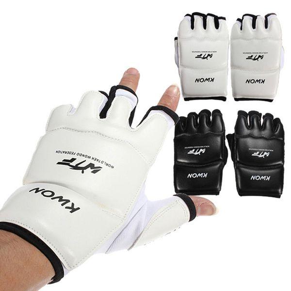 Half Fingers Kids/adults Sandbag Training Boxing Gloves Sanda/karate/muay Thai/taekwondo Protector C19040401