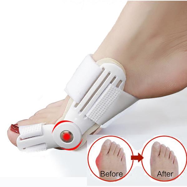 Bunion dispositivo alluce valgo ortopedico Bretelle Correzione dita Notte Foot Care Correttore Thumb Buonanotte giornalieri Strumenti Big Bone