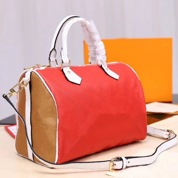 30cm classic Presbyopic package pillow pack designer luxury handbags purses Color matching original single new crossbody Traveling bag