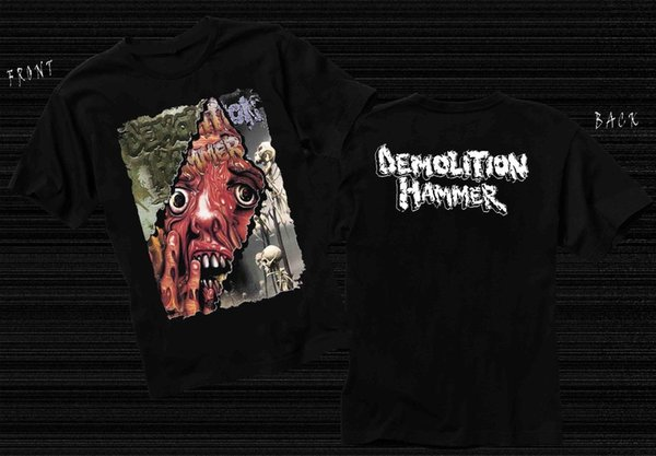 DEMOLITION HAMMER - Amerikan Thrash metal grubu, T_shirt-SIZES: S ila 6XL