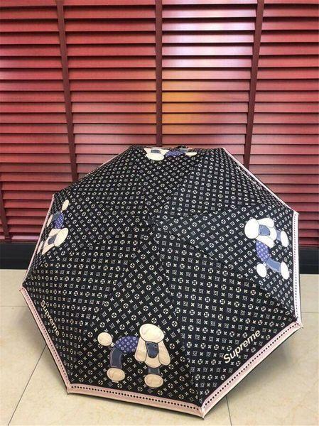 best selling 2019 Designer Umbrellas for men women Printed Umbrella Portable Windproof Folding Umbrella Short Handle Unbrella for Sun