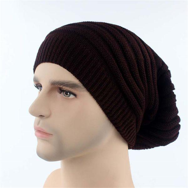 d7ff299b150d15 1PC New Men Women Warm Wool Knitted Caps 1 Pcs Baggy Beanie Hat Unisex  Winter Outdoor