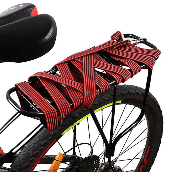 Portabiciclette Cargo Tied Rope Durevole Acciaio al carbonio Gancio Hasp Portapacchi Retrattile Elastico Fascia Cargo Cinghie Corda