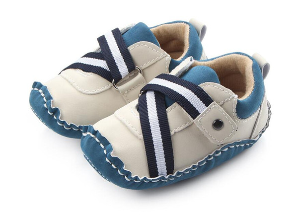 HANDMAED Ins новое прибытие детские зимние новогодние туфли новые предметы мальчик pu обувь прекрасный коричневый серый и черный размер: 11 12 13 см