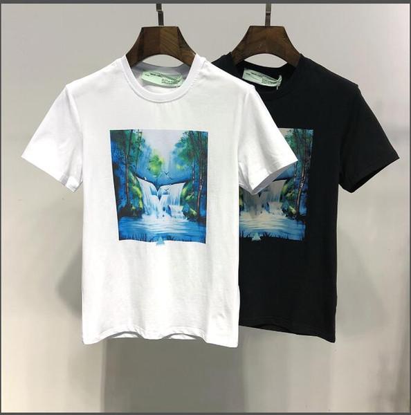 Camiseta de lujo para hombre BLANCO Camiseta de moda de verano Estilo causal Tops Camisetas de diseño Camisetas de manga corta Ropa de hombre M-3XL Camiseta informal
