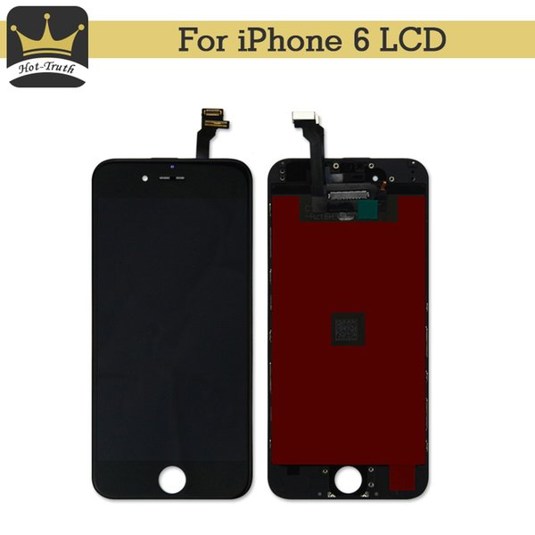 """50Pcs Free DHL 100% Tested No Dead Pixel LCD Display For Apple iPhone 6 Screen Replacement AAA 3D Touch 4.7"""" Digitizer Assembly"""