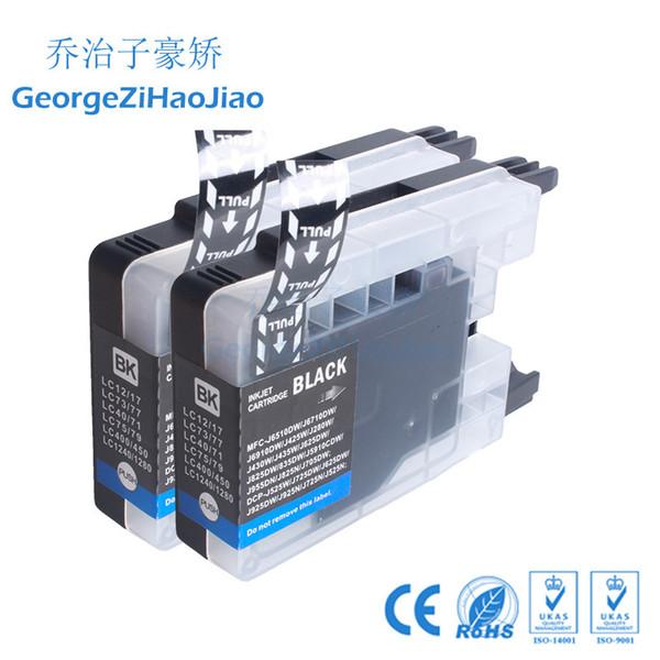 2 X Cartuccia d'inchiostro LC1240 compatibile per LC1240 LC12 LC40 LC71 LC73 LC75 LC400 LC1220 Per Brother MFC-J6910CDW Stampante J6710CDW 3