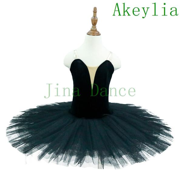 nouveaux styles 74213 98199 Acheter Noir Bleu Lac Du Cygne Pré Professionnel Ballet Tutu Rouge Adulte  Femmes Performance Ballerine Costume De Danse Tutu Blanc Pour Enfants ...