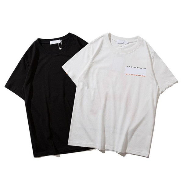 Hot Sale Fashion T-shirt Mens Brand Icon T shirt 19ss summer Casual letter Print With Icon Hip Hop cotton Short Sleeve Tee shirt