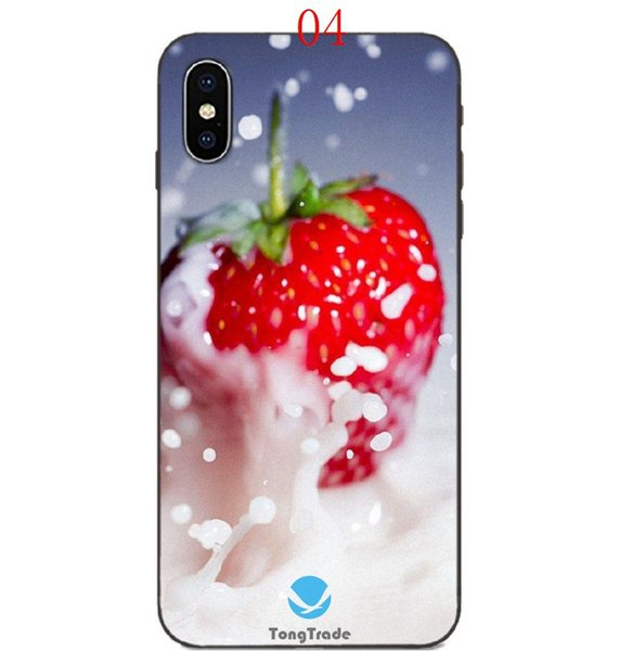 TongTrade Strawberry Case For IPhone X XR XS 11 Pro Max 8s ... Iphone 5 6 7 8 X Xr Xr Max 5s 6s 7s 8s Prices