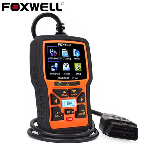 FOXWELL NT301 OBD2 ODB2 Scanner Auto Diagnostic Scanner Car Diagnosis OBD 2 EOBD OBDII Engine Code Reader Auto Diagnostic Tool