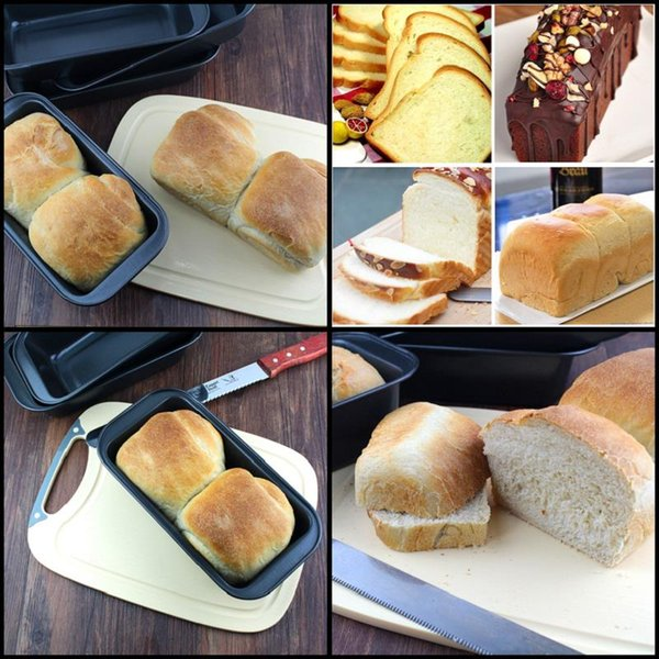 """8.5"""" Rectangle Non-stick Toast Bread Cake Baking Pastry Mold Loaf Tin Carbon Steel Bakeware Pan"""