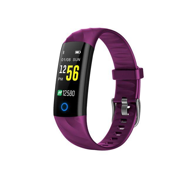 S5 Heart Rate Smart Bracelet Fitness Tracker IP68 Waterproof Blood Pressure Oxygen Monitor Watch Color Screen Activity Tracker Smart Watch