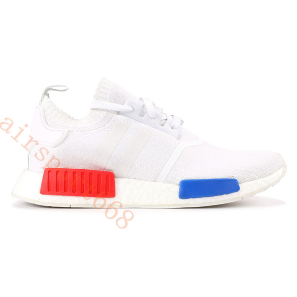 Vintage weiß rot blau