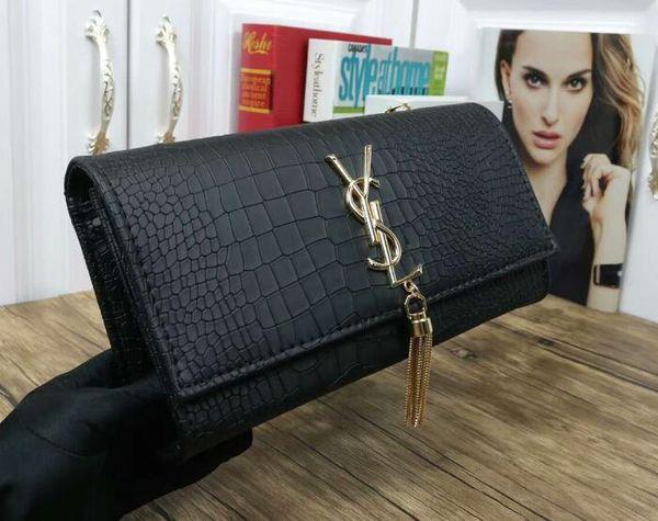 Designer femmes sacs à main en peau de mouton caviar chaîne en métal or argent Designer sac en cuir véritable Flip cover diagonale sacs à bandoulière